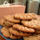 delicious peanut butter cookies picture