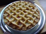 Apple Rhubarb Pie picture