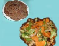Buckwheat & Yam Tortillas With Stirfry picture