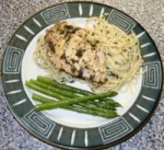 Italian Chicken With New Orleans Spaghetti Bordelaise picture