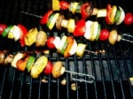 Grilled Veggie Shish Kabobs picture