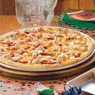 deluxe turkey club pizza picture
