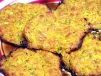 Cheesy  Baked Zucchini, Sweet Potato Patties picture