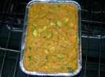 Curried Mung Beans With Rhubarb and Yams picture