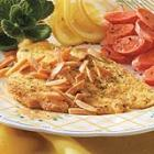 dilled sole with almonds picture