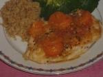 Onion-fried Mandarin Orange Chicken picture
