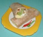 Egg, Onion & Lettuce Wraps picture