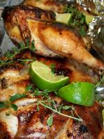 Flattened Cornish Game Hens With Garlic-citrus Marinade picture