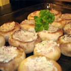 Dinah's Stuffed Mushrooms picture