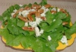 Blue Cheese and Walnut Salad With Maple Dressing picture