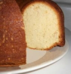Grandmother Paul's Sour Cream Pound Cake picture