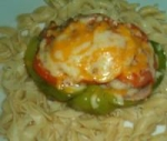 Chicken Mushroom Stuffed Bell Peppers picture
