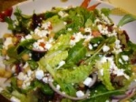 Mediterranean Salad With Feta Cheese picture