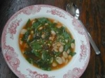 Quick White Bean and Spinach Soup picture