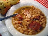Crockpot Ham and Beans picture
