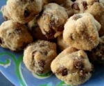 Chocolate Chip Peanut Butter Ball Cookies picture