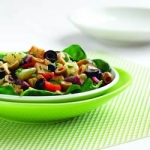 double olive antipasto salad picture