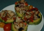 Avocado Stuffed With Seafood picture