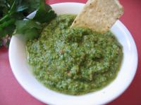 Garlic Cilantro Salsa picture