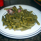 down-south style green beans picture