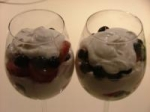 Berry Lemon Mousse Parfait picture