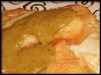 Fried Fish With Moroccan Herb Sauce picture