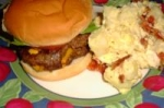 Smoked Cheddar & Bacon Stuffed Hamburgers picture