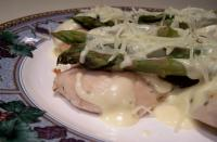 Asparagus Chicken With Hollandaise Sauce picture
