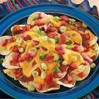 easy cheesy nachos picture