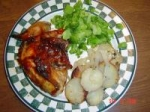 Zesty & Sweet Barbecued Picnic Chicken picture