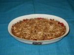 Almond Cherry Crisp picture