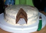 Banana Cake With Bourbon Cream Cheese Frosting picture