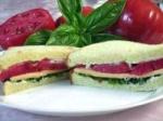 Tomato, Basil, & American Cheese Sandwich picture