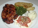 Cajun Rubbed Pork Chops picture
