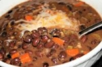 tgifriday's black bean soup picture