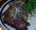 Mushrooms and Onions for Steak picture