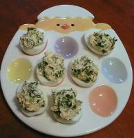 Spinach-stuffed Eggs picture