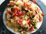 Warm Greek-style Rice Salad picture