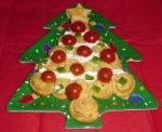 Holiday Italian Herb Cresent Christmas Trees picture