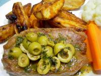 Lemon and Olive Veal Steaks picture