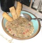 Mediterranean Thai Eggplant White Bean Soup picture