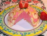 Strawberry Custard Bombe picture