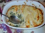 Salmon Spinach Bake picture