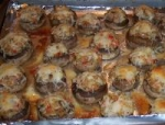 Stuffed Crab Mushrooms With a Touch from of Chef Paulag picture