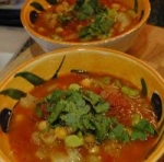 Moroccan-Style Chickpea Soup picture