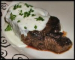 Steak Roquefort picture