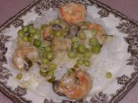 Curried Shrimp With Peas picture