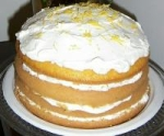 Lemon Bavarian Torte picture
