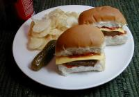 almost white castle hamburgers picture