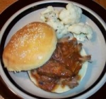 Slow Cooker Southern Barbecue Pork on a Bun picture